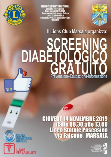 Screening gratuito del diabete